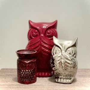 Owl decor set